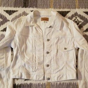 White Levi's Jean Jacket